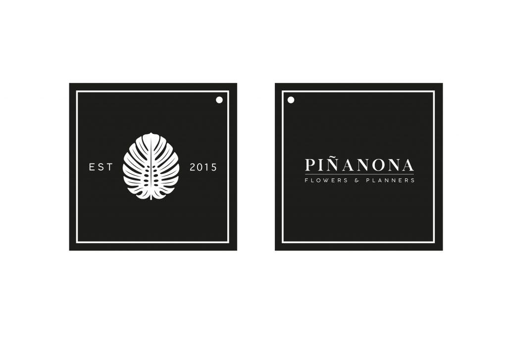 etiqueta piñanona