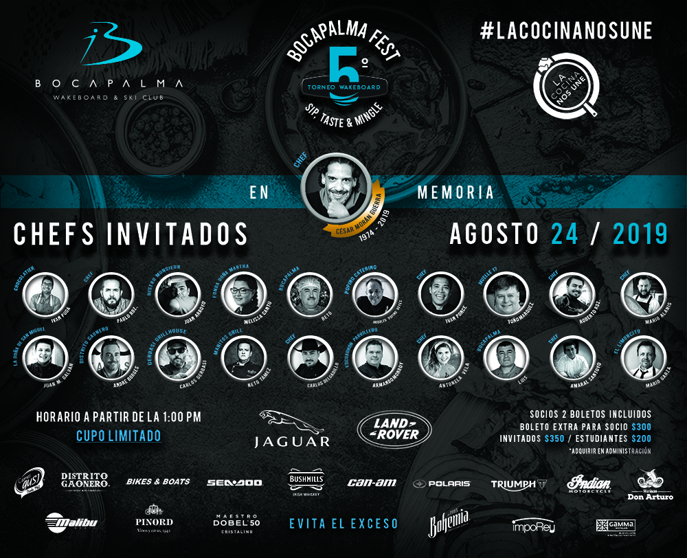 Invitación Bocapalma 5to fest