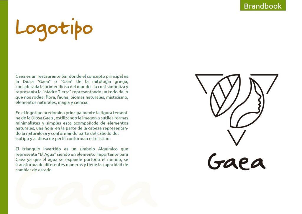 Logotipo gaea