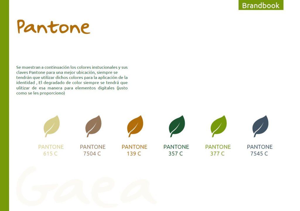 Pantone Gaea